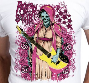 T-shirt męski Rock Star