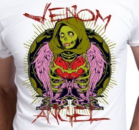 T-shirt men Venom Angel
