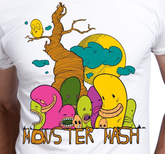 T-shirt męski Monster Mash
