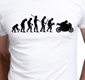 T-shirt Men Evolution Moto