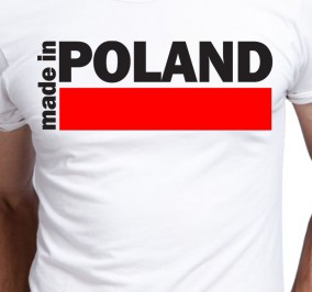 T-shirt Męski Made In Polska