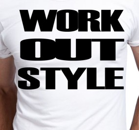 T-shirt Męski Work Out Style