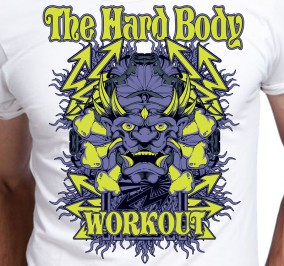 T-shirt Męski Hard Body
