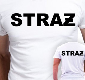 T-shirt Men Strażak
