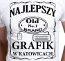 T-shirt Men Dla Grafika