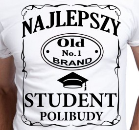 T-shirt Men Dla Studenta