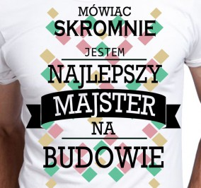 T-shirt Men Skromny Majster