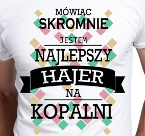 T-shirt Men Skromny Hajer