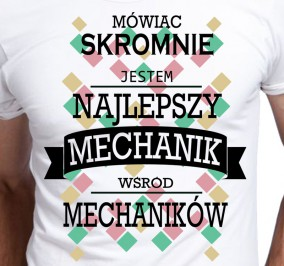 T-shirt Men Skromny Mechanik