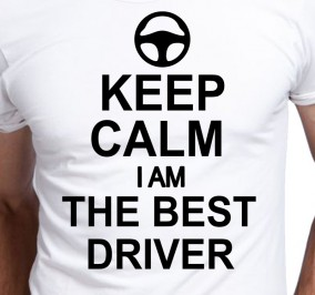 T-shirt Men Keep Calm The Best Driver