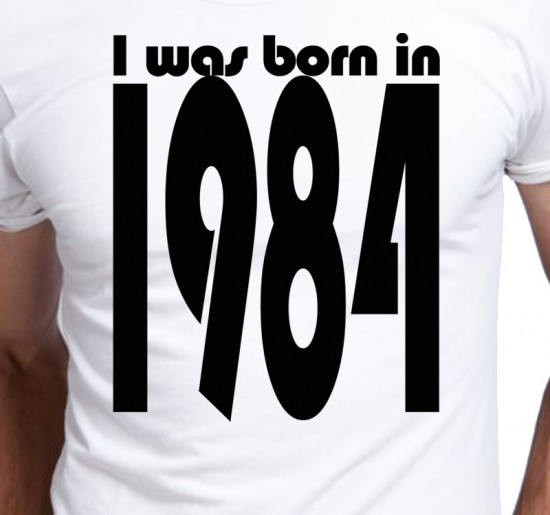 T-shirt Men I Was Born In
