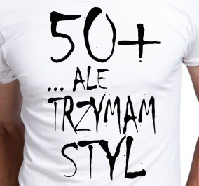 T-shirt Men Projekt Styl 50 Plus