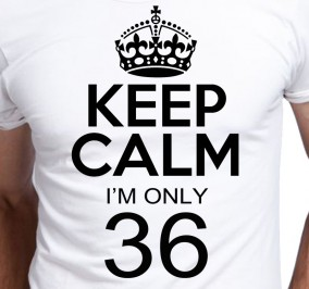 T-shirt Men Keep Calm I'm Only