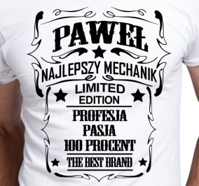 T-shirt Men Najlepszy Mechanik