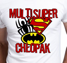T-shirt Men Multi Super Chłopak