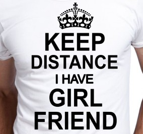 T-shirt Męski Keep Distance