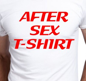 T-shirt Men After Sex T-shirt