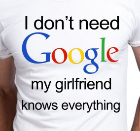 T-shirt Męski Dont Need Google