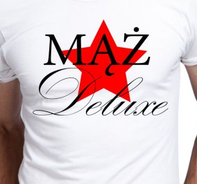 T-shirt Men Mąż Deluxe