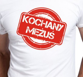 T-shirt Men Kochany Mężuś