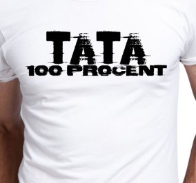 T-shirt Men Tata 100 Procent